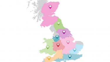 TACT UK Map