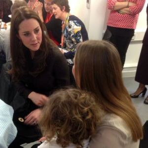 Kate Middleton Fostering Event