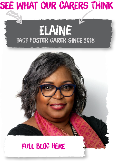Elaine is one of our Fostering West Midlands carers
