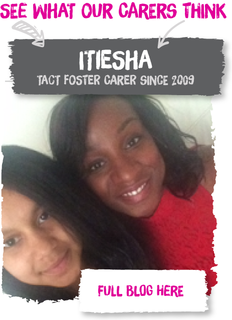 Itiesha is one of our Fostering South West carers