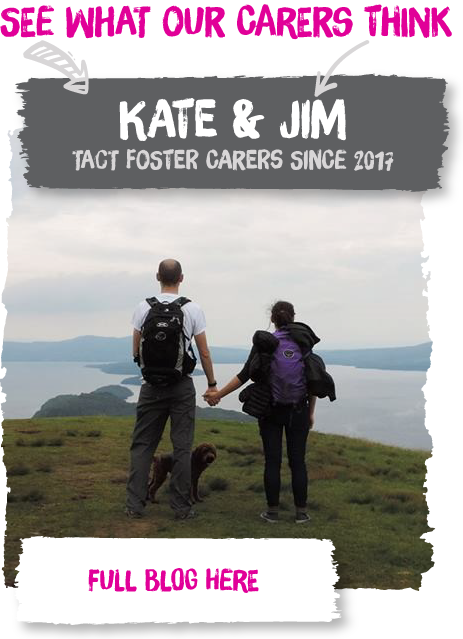Kate & Jim are two of our Fostering South Coast carers!