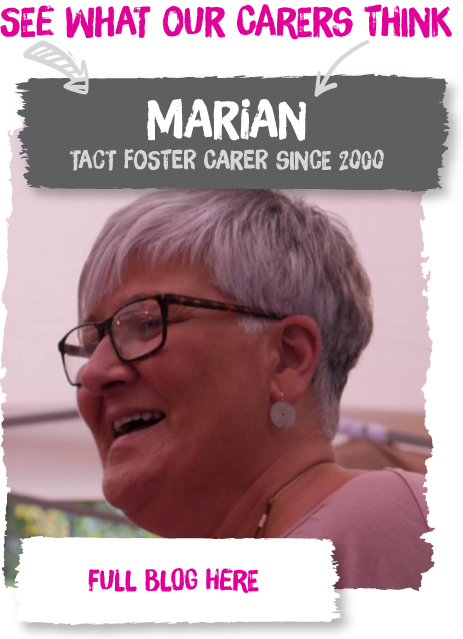 Marian has been fostering in Wales since the year 2000