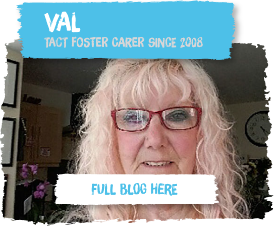 Val has been fostering refugees since 2008